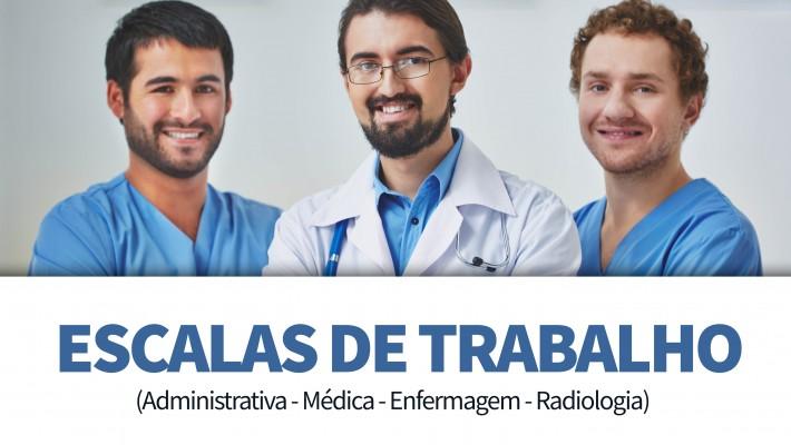 Escalas PPP Imagem (Adm | Médica | Enfermagem | Radiologia)